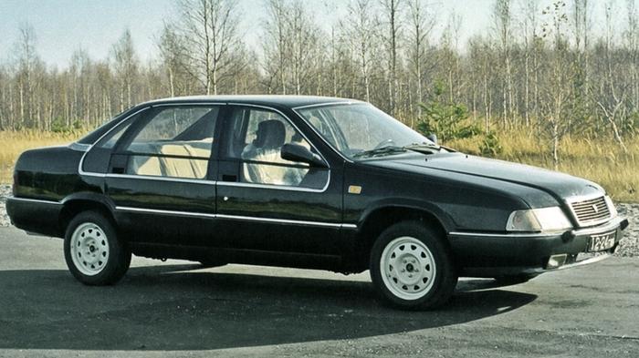 Экспериментальный седан ГАЗ-3105 с увеличенной площадью остекления.