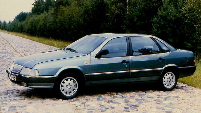 Представительский седан ГАЗ-3105 серийно выпускался с 1992 по 1996 гг.
