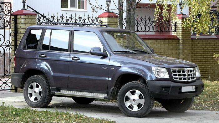 Бюджетный внедорожник ГАЗ-3106, который едва не попал в серию.