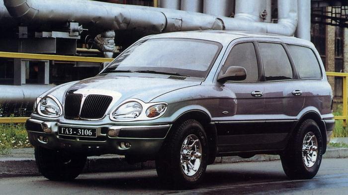 ГАЗ-3106 «Атаман-2», 1999 год.