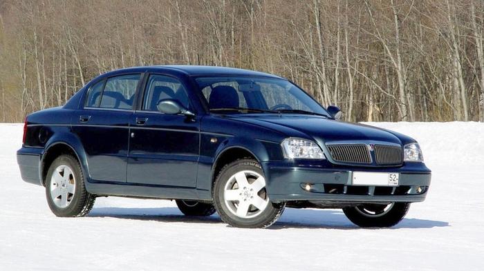 Седан среднего класса ГАЗ-3115.