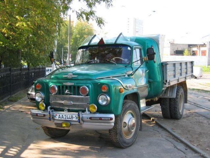 Внешний вид этого «ГАЗона» - просто мечта многих советских водителей. | Фото: yaplakal.com.