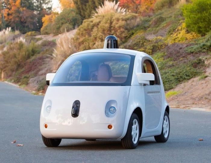 Waymo – автономный автомобиль от компании Google. | Фото: auto.mail.ru.