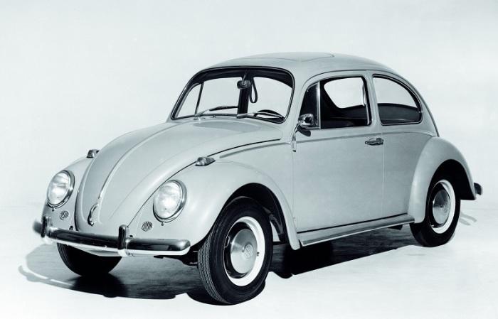 Volkswagen Beetle середины 1960-х годов. | Фото: forums.automobilemag.com.