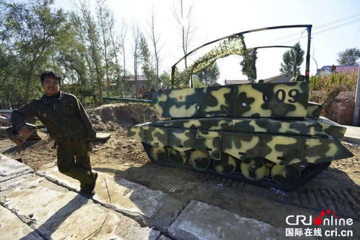 «Изделие» №009, которое сделал китайский фермер своими руками. | Фото: odditycentral.com.