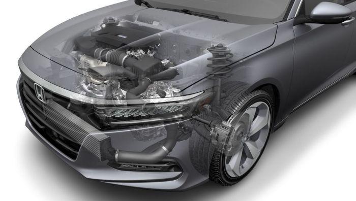 Силовая установка новой Honda Accord. | Фото: cheatsheet.com.