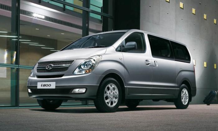 Hyundai i800 – просторный восьмиместный коммерческий автомобиль, но Кларксону он не понравился.