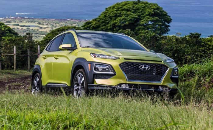 Hyundai Kona – просторный автомобиль со спортивными повадками. | Фото: nydailynews.com.
