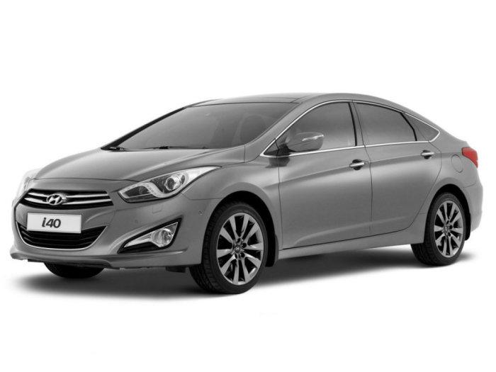 Большой корейский седан Hyundai i40.   Фото: drom.ru.