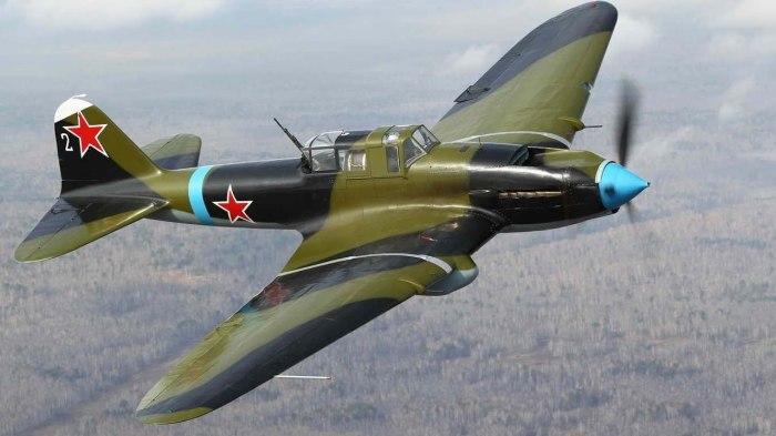 Легендарный советский штурмовик Ил-2. | Фото: youtube.com.
