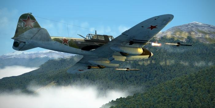 Основным вооружением штурмовика Ил-2 были бомбы, пушки и реактивные снаряды. | Фото: forum.il2sturmovik.ru.