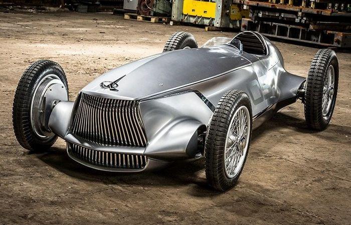 Японский концепт-кар Infiniti Prototype 9. | Фото: foxnews.com.