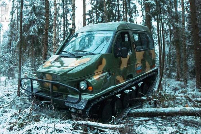 Снегоболотоход ГАЗ-3409 «Бобр»