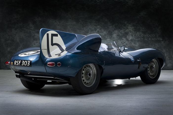 Jaguar D-Type №15 – победитель Ле-Мана 1956 года. | Фото: it.pinterest.com.