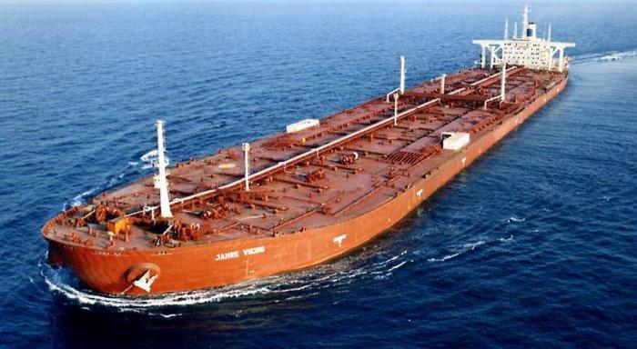 Jahre Viking – самое большое в мире судно из когда-либо построенных. | Фото: shana.ir.