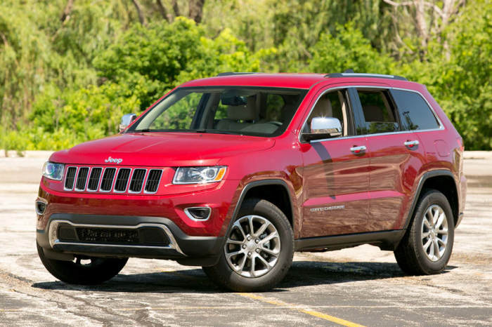 Американский внедорожник Jeep Grand Cherokee 2014 года.   Фото: cars.com.