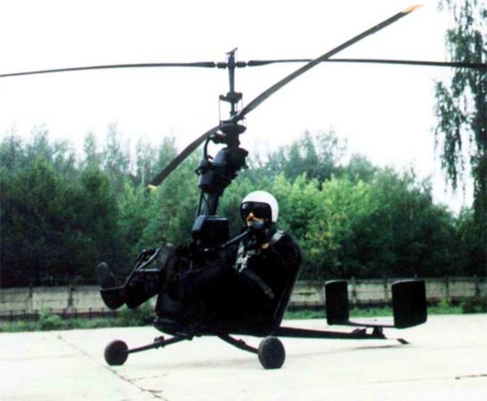 Сверхлегкий вертолет Ка-56. | Фото: airwar.ru.