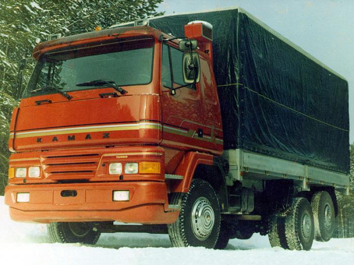 КамАЗ-5315М Опытный - автомобиль 1990 года. | Фото: autowp.ru.