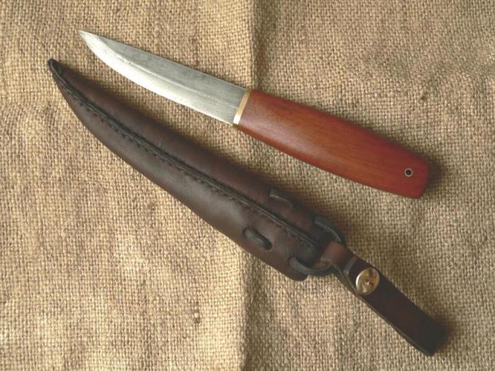 Традиционный финский нож пуукко. | Фото: topguns.ru.