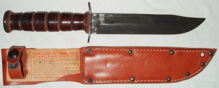 Ka-Bar – знаменитый нож американских морпехов. | Фото: usmilitariaforum.com.