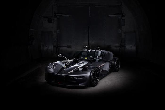 «Черное издание» спортивного автомобиля KTM X-Bow.