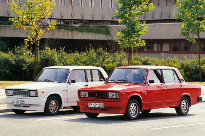 Lada Nova Spezial – псевдоспортивная версия «Жигуля» для Германии.   Фото: 4kolesa.mirtesen.ru.