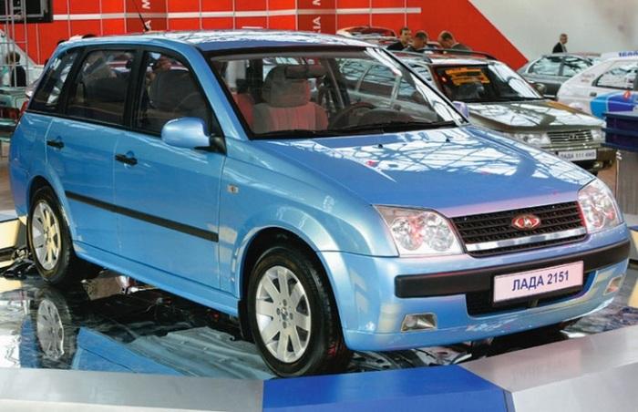 ВАЗ-2151 – концепт кар 2002 года. | Фото: wroom.ru.
