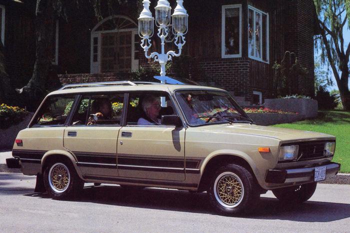Lada Signet – экспортный вариант ВАЗ-2104 для Канады.   Фото: 4kolesa.mirtesen.ru.