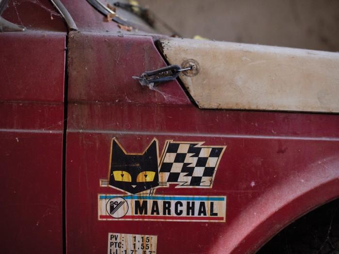 Капот и крышка багажника надежно фиксируются. | Фото: rmsothebys.com.