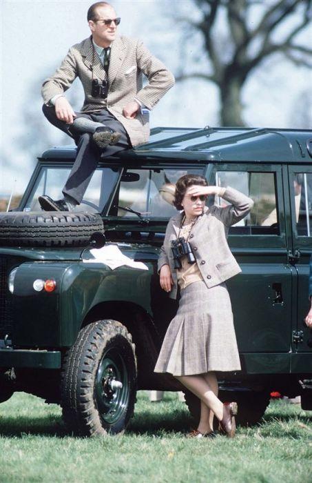 Land Rover британской королевской четы. | Фото: pinterest.com.