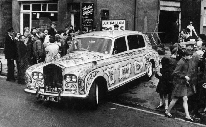 Rolls-Royce был основным автомобилем Джона Леннона. | Фото: popmech.ru.