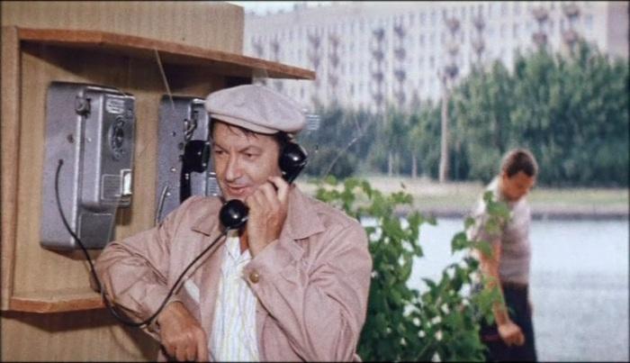Георгий Вицин в сцене из фильма «Неисправимый лгун» (1973).