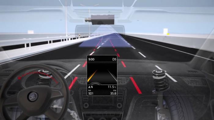 Система слежения за полосой может пригодится на трассе. | Фото: drive2.ru.