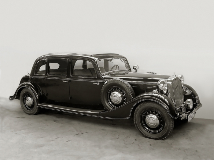 Представительский лимузин Maybach SW35/SW38, выпуск 1935-1939 гг. | Фото: autowp.ru.