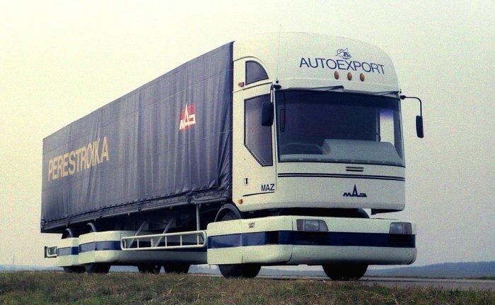 МАЗ-2000 – инновационный грузовик из СССР.