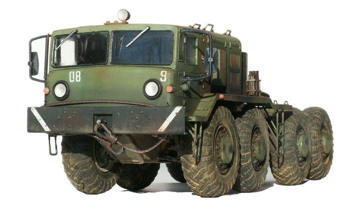 МАЗ-537 - танковый тягач.