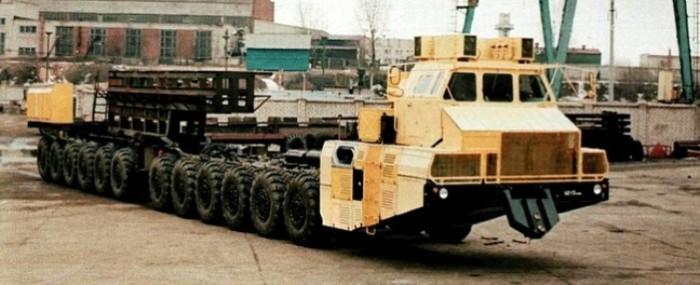 МАЗ-7907 - 12-осная «многоножка» из Минска.