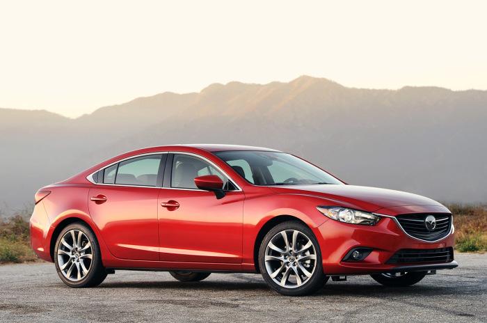 Даже подержанные седаны Mazda6 пользуются неизменным успехом в России.   Фото: yandex.ru.