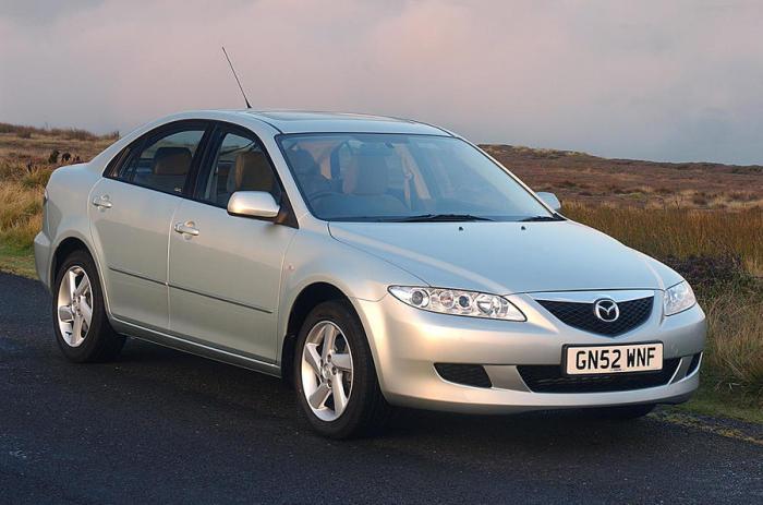 Mazda 6 - 5-дверный японский хэтчбек.