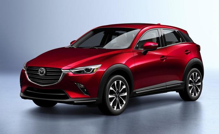 Mazda CX-3 - это также экономичный и комфортабельный кроссовер с узнаваемым стилем. | Фото: nydailynews.com.
