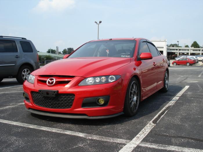 Mazdaspeed 6, замаскированный под личиной седана.
