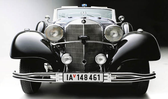 Mercedes-Benz 770 Адольфа Гитлера. | Фото: express.co.uk.