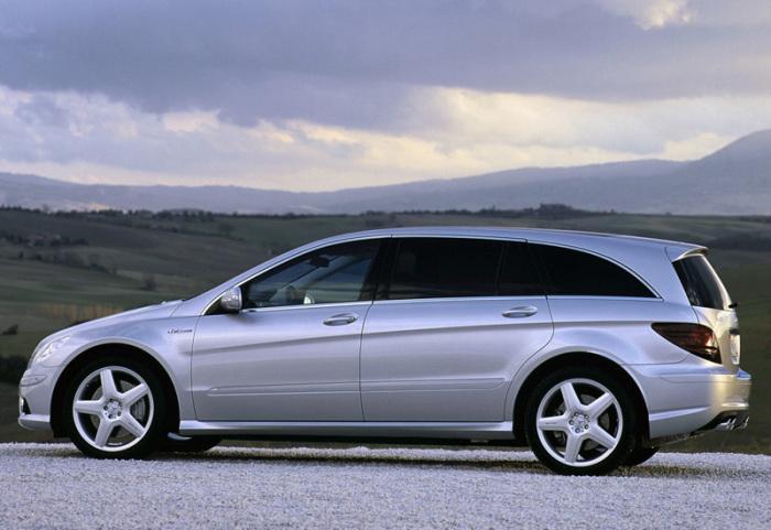 Минивен Mercedes-Benz R63 AMG – один из самых быстрых авто.