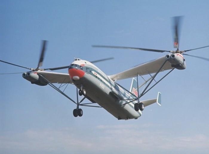 Ми-12 – самый большой вертолет в мире. | Фото: oruzhie.info.