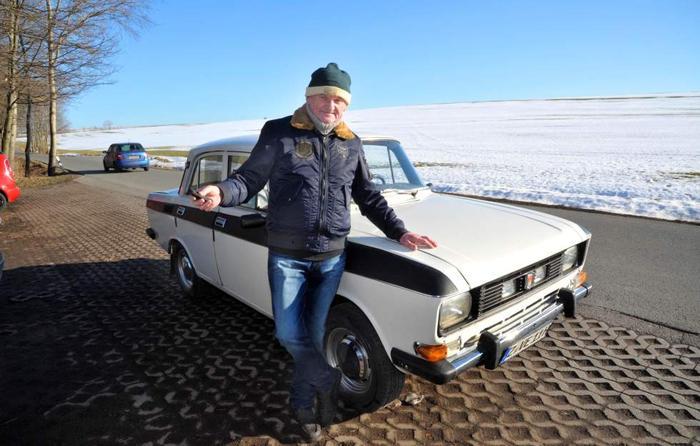 Москвич из ГДР, который ездит до сих пор.