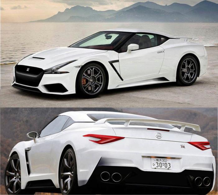 Nissan GT-R – популярный японский спорткар.