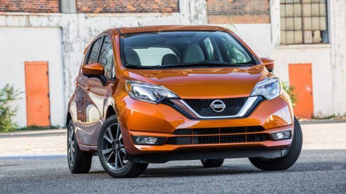 Nissan Versa Note 2017 года. | Фото: cheatsheet.com.