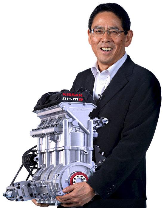 Сверхлегкий 1,5-литровый 3-цилиндровый двигатель Nissan ZEOD RC