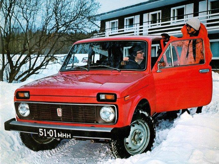 Гражданский внедорожник с постоянным полным приводом. | Фото: sovietcars.net.