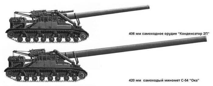 «Конденсатор» и «Ока» - самоходные установки, поразившие всех.